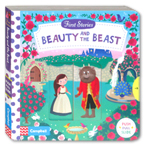 First Stories Beauty and the Beast - Push Pull Slide Board Book
