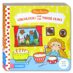First Stories Goldilocks and the Three Bears - Push Pull Slide Board Book