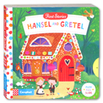 First Stories Hansel and Gretel - Push Pull Slide Board Book