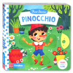 First Stories Pinocchio - Push Pull Slide Board Book