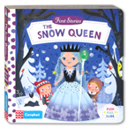 First Stories The Snow Queen - Push Pull Slide Board Book