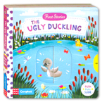 First Stories The Ugly Duckling - Push Pull Slide Board Book