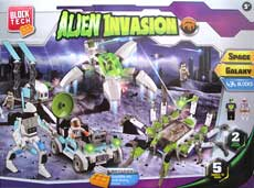 Grafix Block Tech ALIEN INVASION 434pcs Building Blocks