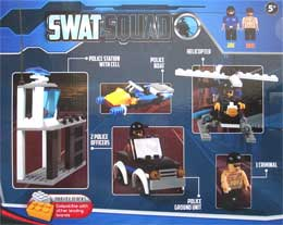 Grafix Block Tech SWAT SQUAD 230pcs Building Blocks