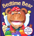 Bedtime Bear Board Book with Hand Puppet