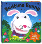 Bedtime Bunny Board Book with Hand Puppet