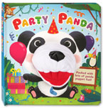 Party Panda Board Book with Hand Puppet