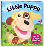 Little Puppy Board Book with Fun Hand Puppet
