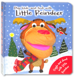 Play Hide and Seek with Little Reindeer Board Book with Hand Puppet