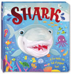 Shark Board Book with Hand Puppet