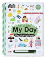 Help With Homework Easy English My Day Wipe-Clean Workbook