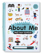 Help With Homework Easy English About Me Wipe-Clean Workbook