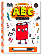 Help With Homework 3+ : ABC (Wipe-Clean Activities To Prepare For School)