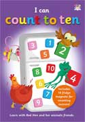 I Can Count to Ten includes 10 fridge magnets for counting success!