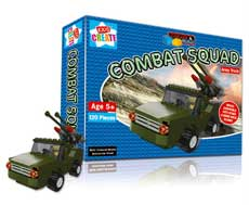 Create & Build Army Truck 120pcs Building Blocks