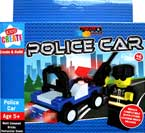 Create & Build Police Car 46pcs Building Blocks
