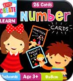 Kids Create Number Cards in Tin Box (26 Cards)