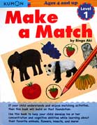 Kumon Make a Match Level 1 (Ages 4 and up)