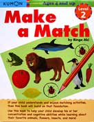 Kumon Make a Match Level 2 (Ages 4 and up)