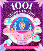 1001 Things to Find Ballerina - Look and Find Activity Book