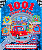1001 Things to Find Vehicles - Look and Find Activity Book
