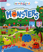 My First Search & Find Silly Little Monsters Board Book