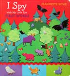 Jeannette Rowe I Spy with My Little Eye First Words Board Book