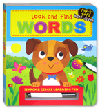 Tiny Tots Wipe Clean - Look And Find Words Board Book (Search And Circle Learning Fun)
