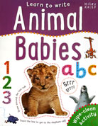Animal Babies Learn to Write Wipe Clean Activity Book