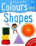 Colours and Shapes Learn to Write Wipe Clean Activity Book