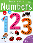 Numbers Learn to Write Wipe Clean Activity Book