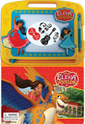 Learning Series Disney Elena of Avalor Boardbook with Write & Wipe Drawing Board