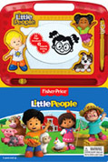 Learning to Draw Fisher Price Little People Board Books With Write & Wipe Magnetic Drawing Books