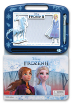 Learning Series Disney Frozen II Boardbook with Write & Wipe Drawing Board