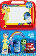 Learning Series Disney Pixar Inside Out Boardbook with Write & Wipe Drawing Board