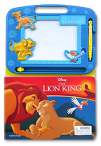 Learning Series Disney The Lion King Boardbook with Write & Wipe Drawing Board