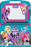 Learning Series My Little Pony the Movie Boardbook with Write & Wipe Drawing Board