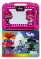 Learning to Draw Dreamworks Trolls World Tour Boardbook With Write & Wipe Magnetic Drawing Books