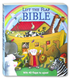 Lift the Flap BIBLE Board Book with over 40 flaps to open