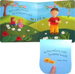 God Loves You Board Book A Lift the Flap Book - Peek-a-Boo Promises Series