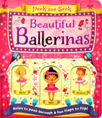 Peek and Seek Beautiful Ballerinas Board Book - Holes to Peek Through & Fun Flaps to Flip!