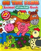 On the Farm Animal Lift-the-Flap Book