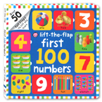 Lift-the-Flap First 100 Numbers Board Book (over 50 Fun Flaps to lift and learn)