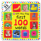 Lift-the-Flap First 100 Words Board Book (over 35 Fun Flaps to lift and learn)