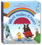 Usborne Lift-the-flap First Questions and Answers - What Makes It Rain? (with lots of flaps to lift)