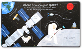Usborne Lift-the-flap First Questions and Answers - What's It Like In Space? (with lots of flaps to lift)
