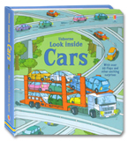Usborne Look Inside Cars With Over 60 Flaps to lift and other exciting surprises