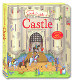 Usborne Look inside A Castle With over 60 flaps to lift