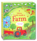 Usborne Look inside a Farm With over 50 flaps to lift