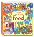 Usborne Look Inside Food With Over 60 Flaps to lift